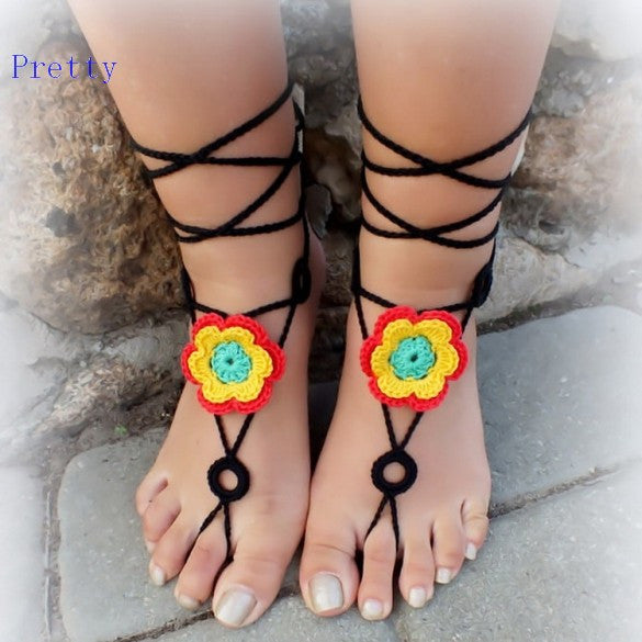 Barefoot Sandal Shoes Foot Jewelry - Ashlays - 3