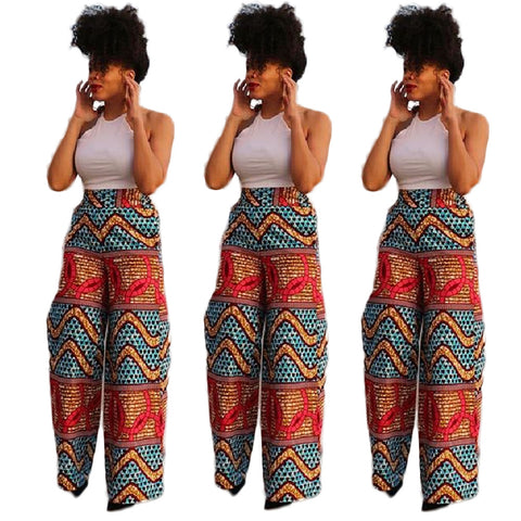 African Print Casual Romper - Ashlays