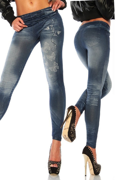 Sexy Stretchy Slimming Jeggings - Ashlays - 15