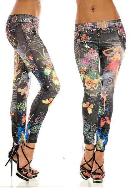 Sexy Stretchy Slimming Jeggings - Ashlays - 19