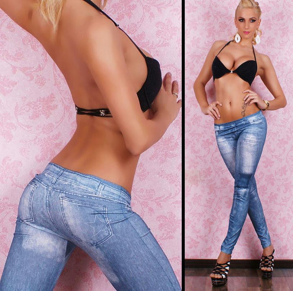 Sexy Stretchy Slimming Jeggings - Ashlays - 2