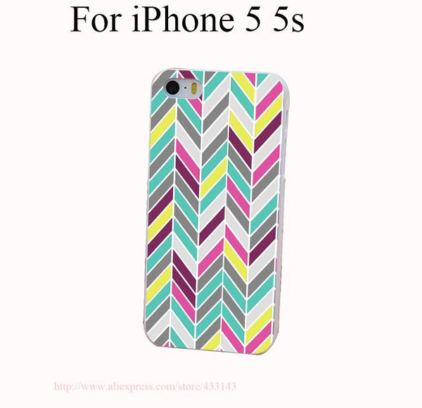 Chevron Cover Case for iPhone 4 4s 5 5s 5c 6 6s - Ashlays - 3