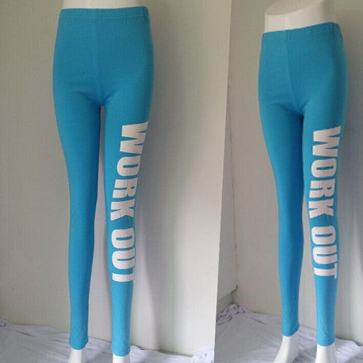 Printed Sporty Leggings - Ashlays - 8