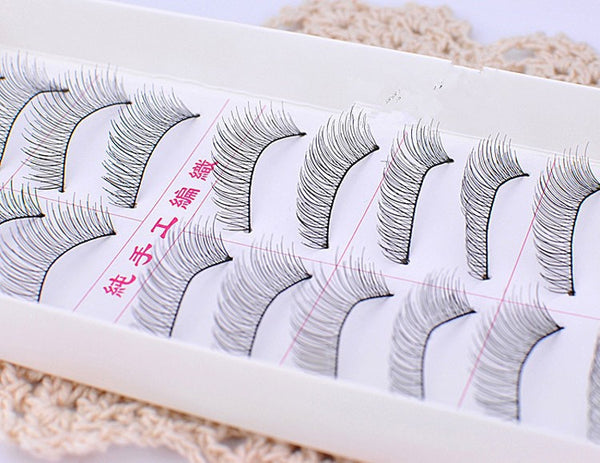 Plastic Black Eyelashes - Ashlays - 3