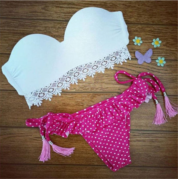 Low Waist Bikini Set - Ashlays - 12