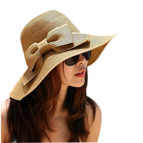 Bohemian Floppy Straw Hat - Ashlays