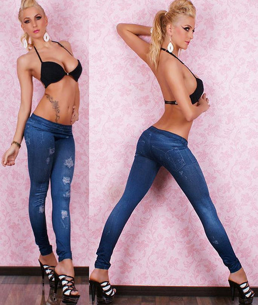 Sexy Stretchy Slimming Jeggings - Ashlays - 12