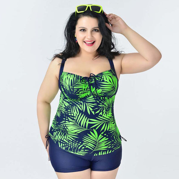 Plus Size Swimwear 2 Piece Set - Ashlays - 1