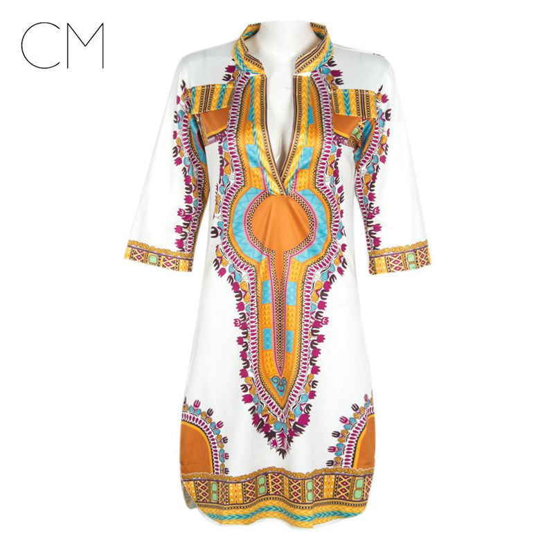 Dashiki Dress African Tranditional - Ashlays - 2