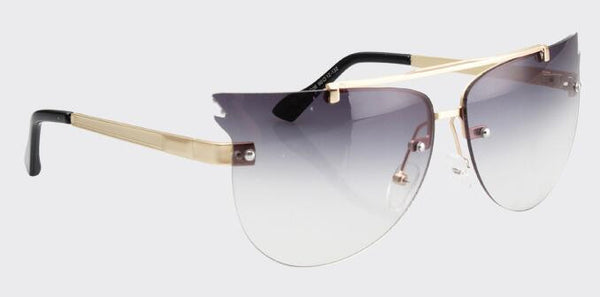 Classic Cat Eye Oversized Sunglasses - Ashlays - 7