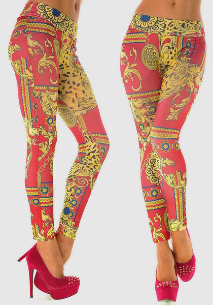 Sexy Stretchy Slimming Jeggings - Ashlays - 4