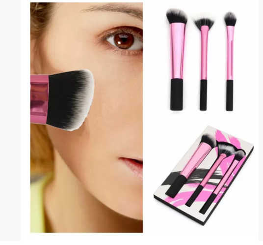 Professional Pink Makeup Brush Set - Ashlays
