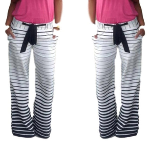 Casual Striped Pants - Ashlays