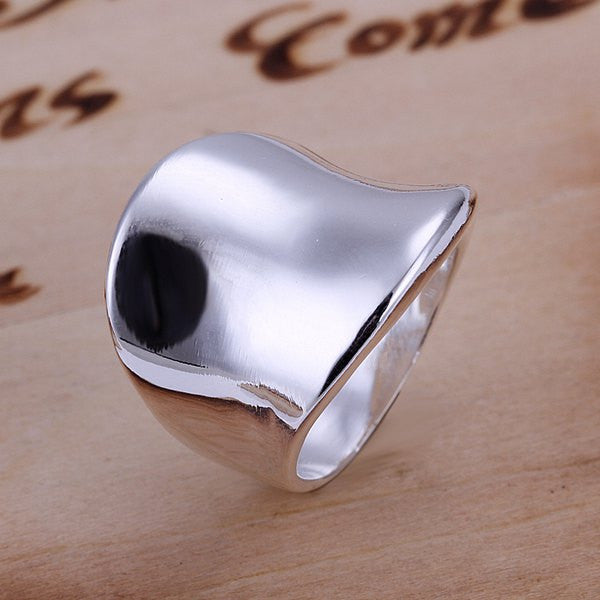 Stylish Thumb Shape Copper Ring - Ashlays - 1