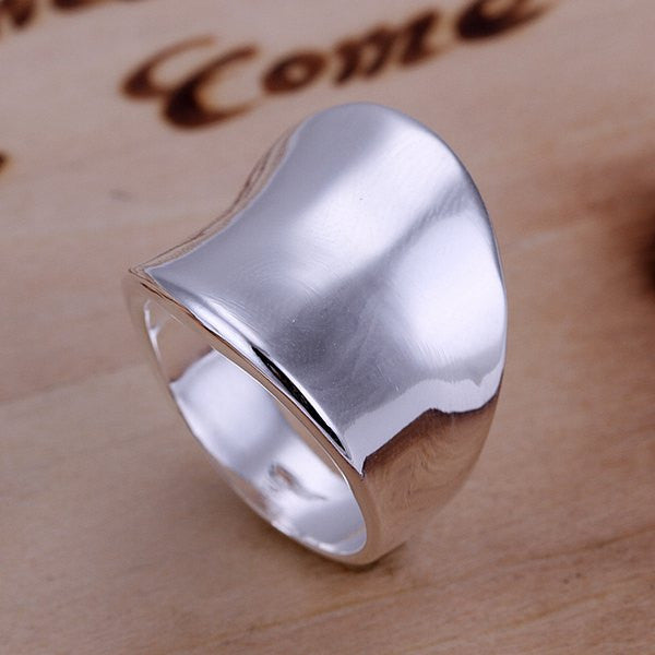 Stylish Thumb Shape Copper Ring - Ashlays - 2