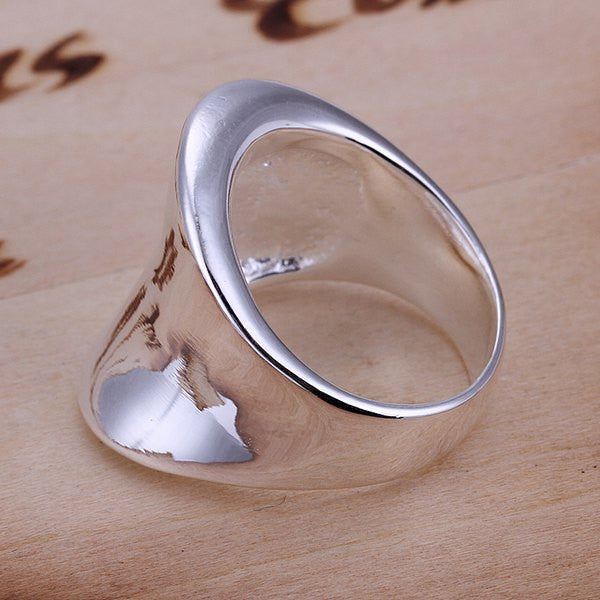 Stylish Thumb Shape Copper Ring - Ashlays - 3