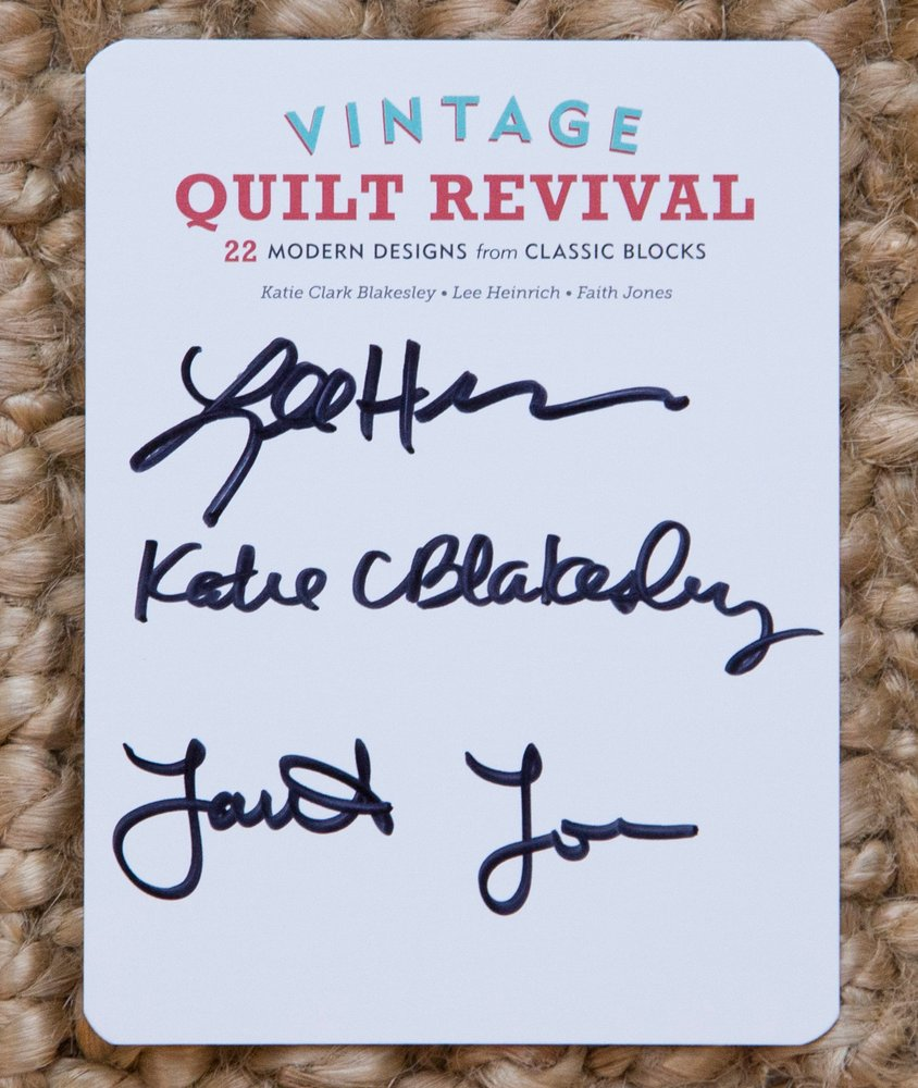 Vintage Quilt Revival Bookplate