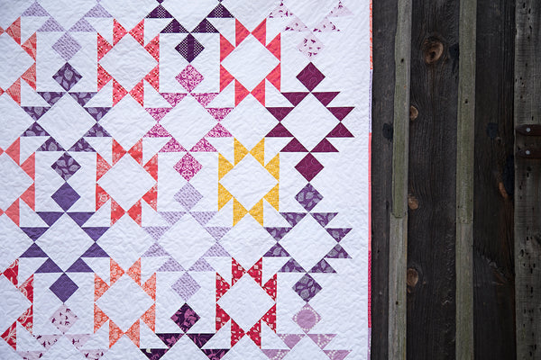 Picnic Point Quilt Pattern - PDF