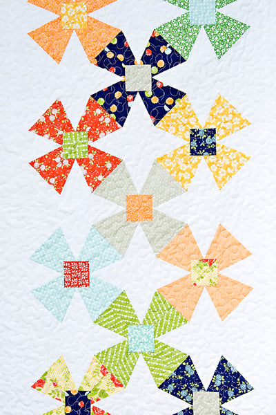 Holland Mills Quilt Pattern - Printed & Shipped