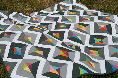 Prism Quilt Pattern - Printed & Shipped