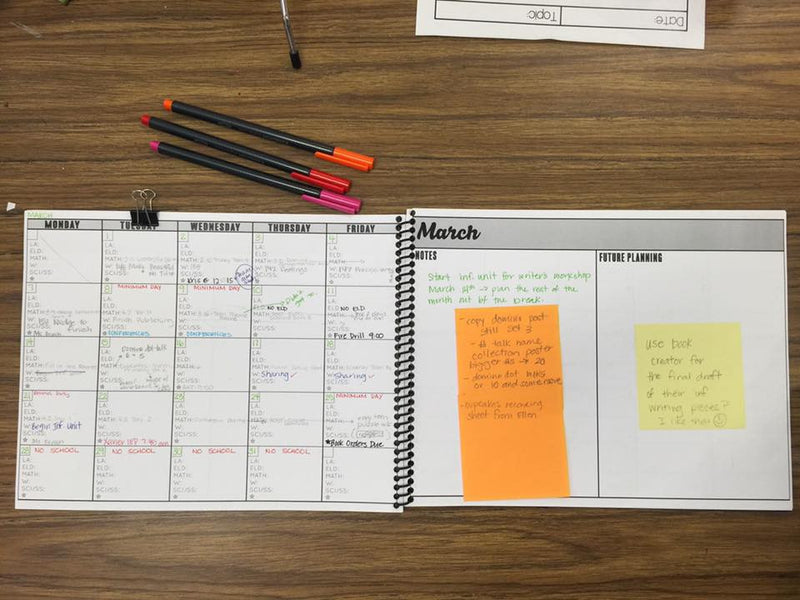 The Essential Teacher MONTHLY Planner