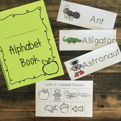 Alphabet Book- Kindergarten Center Activity