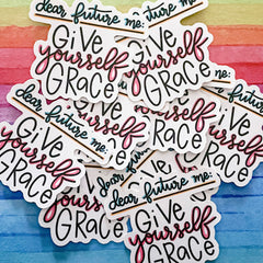 Sticker - Give Yourself Grace