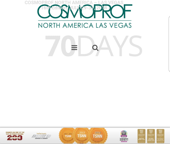 Cosmoprof - Mandalay Bay Convention Center July 29 -31