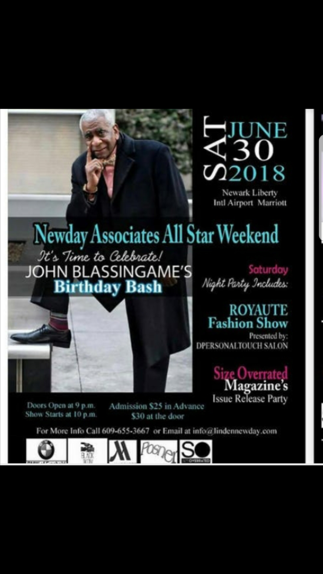 All Star Fashion Weekend June 29 - 31