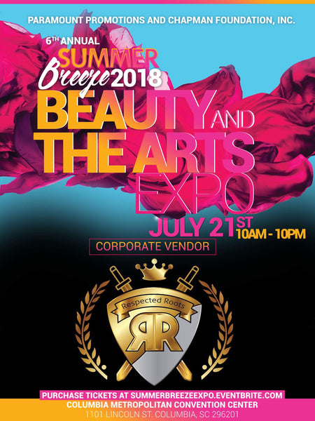 "6th Annual Summer Breeze ""Beauty & The Arts"" Expo - July 21, 2018"