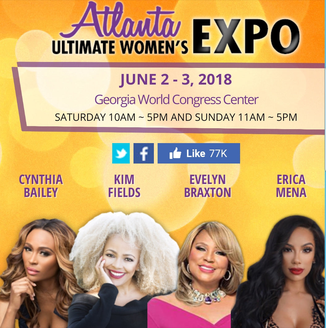 Ultimate Women's Expo - Georgia World Congress Center June 2-3