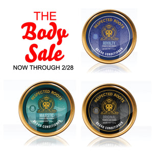 The Body Sale - 3 for $60 Respected Roots Beard Conditioner