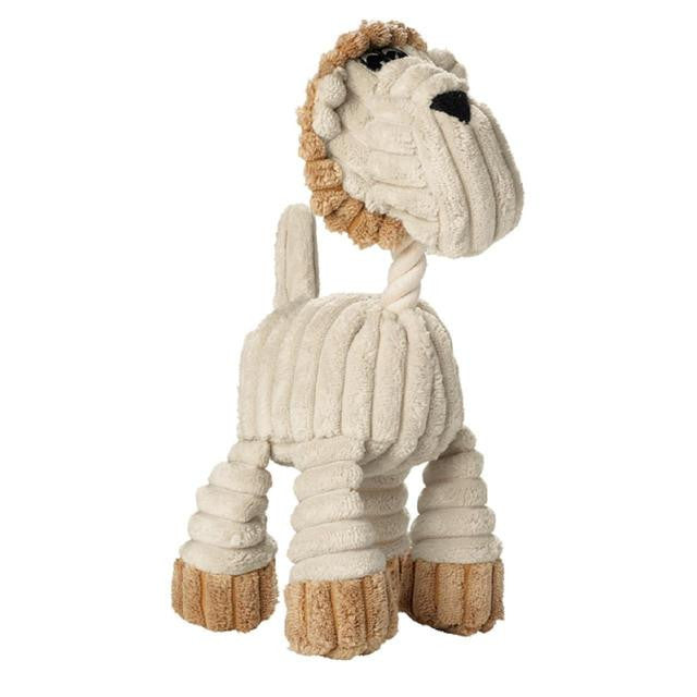 Hunter Dog Toy Huggly Zoo Lion - Great Puppy Toy from Fernie's Choice