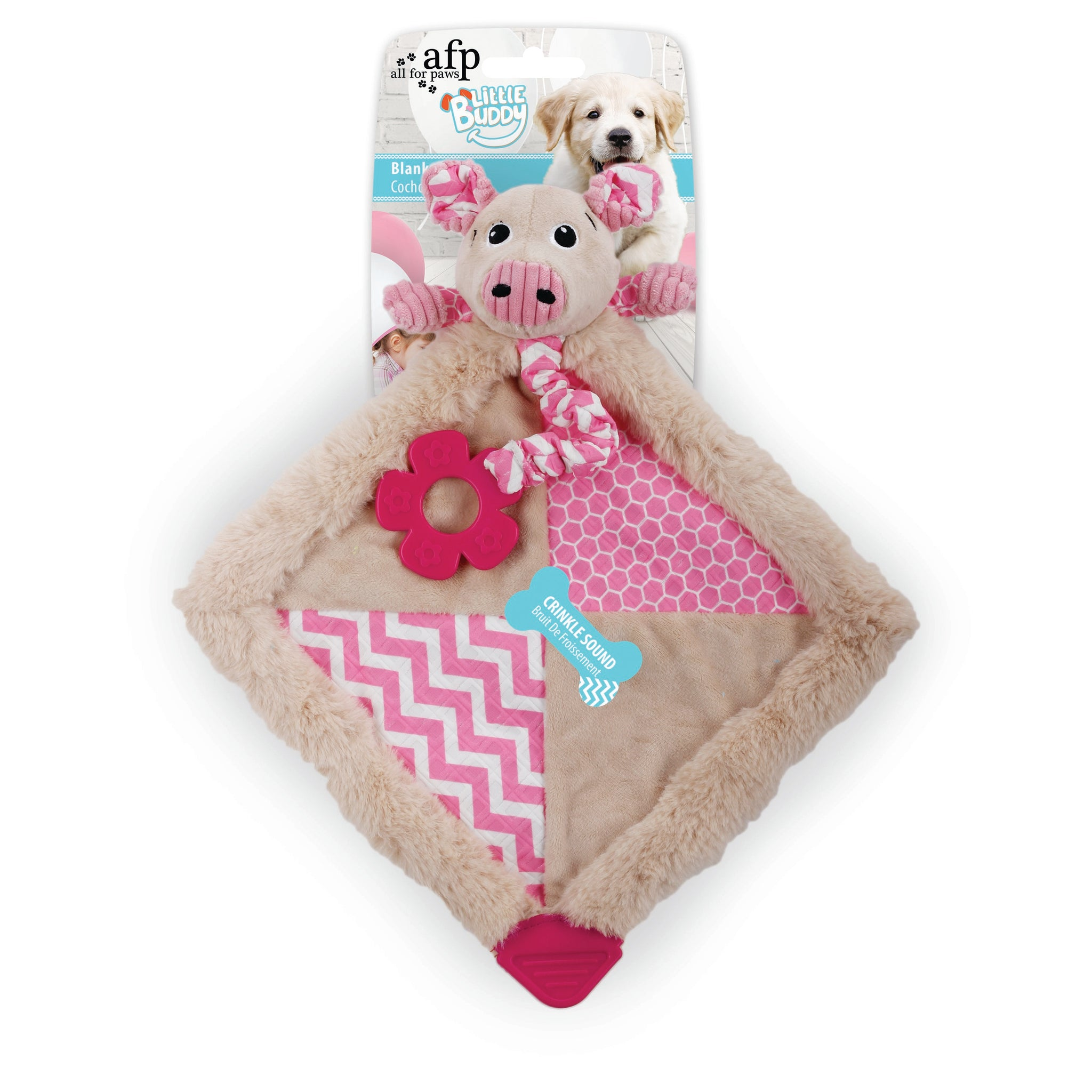 All For Paws Little Puppy Buddy Blanky Piggy - Fernie's Choice Classic Country Wear for Dogs
