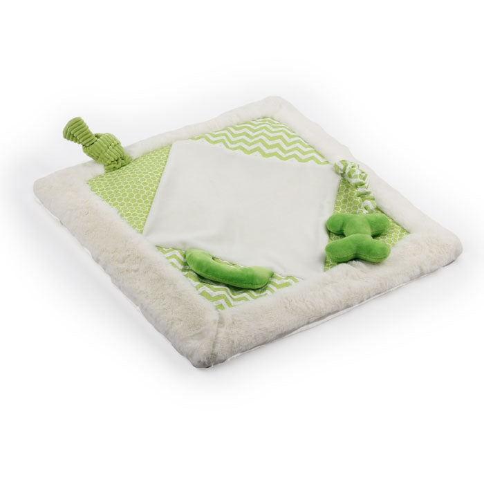 All for Paws Little Buddy Play Mat Green 50cm - Fernie's Choice Classic Country Wear for Dogs