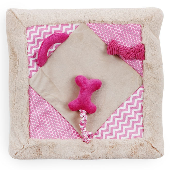 All for Paws Little Buddy Play Mat Pink 50cm - Fernie's Choice Classic Country Wear for Dogs