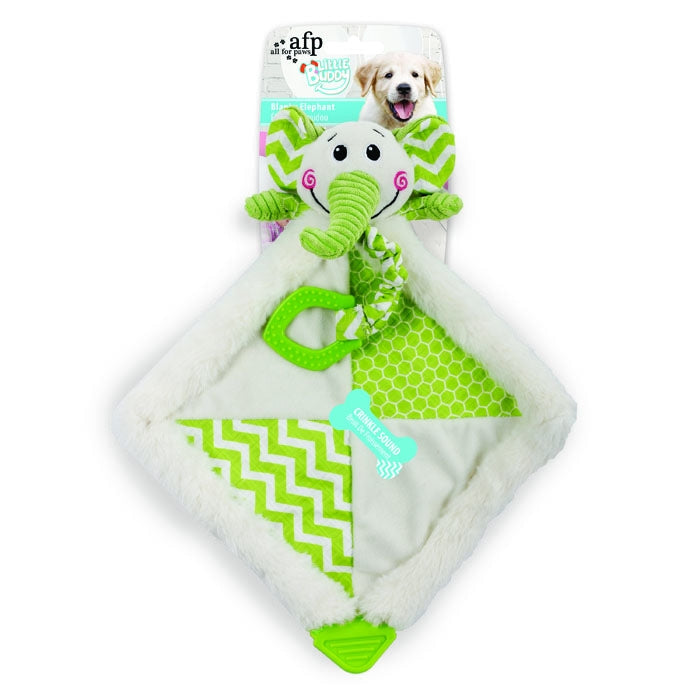 All For Paws Little Puppy Buddy Blanky Elephant - Fernie's Choice Classic Country Wear for Dogs