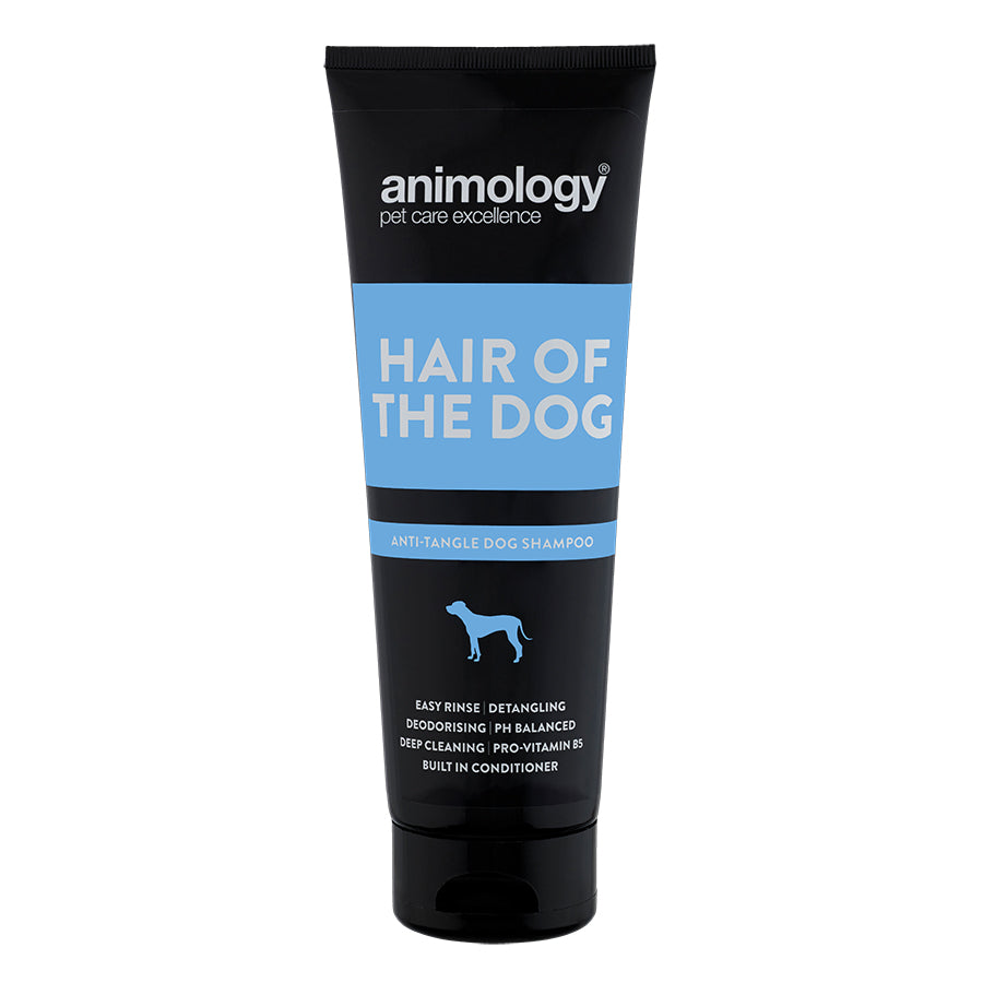 Animology Hair Of The Dog Anti Tangle Shampoo 250ml - Fernie's Choice Classic Country Wear for Dogs