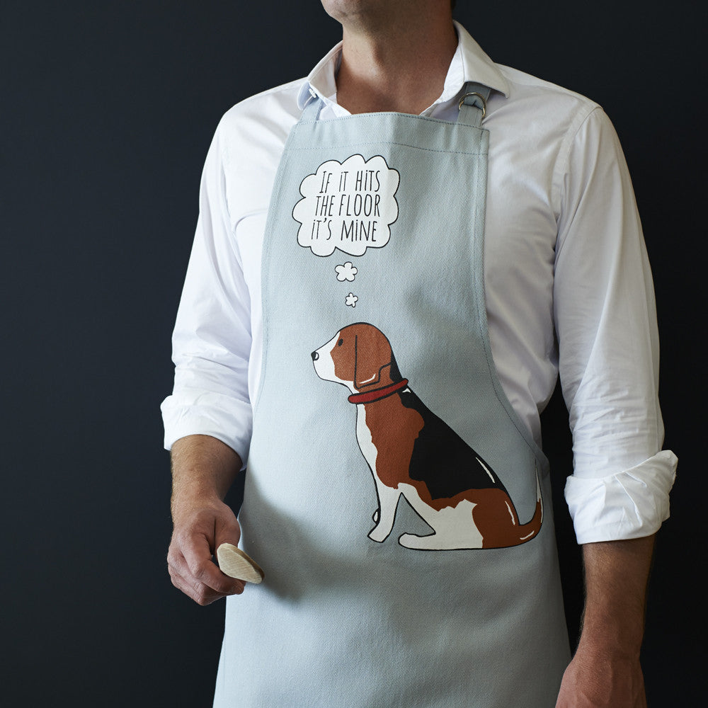 Beagle Dog Apron - Adjustable Neck - Great Gift For Men & Women