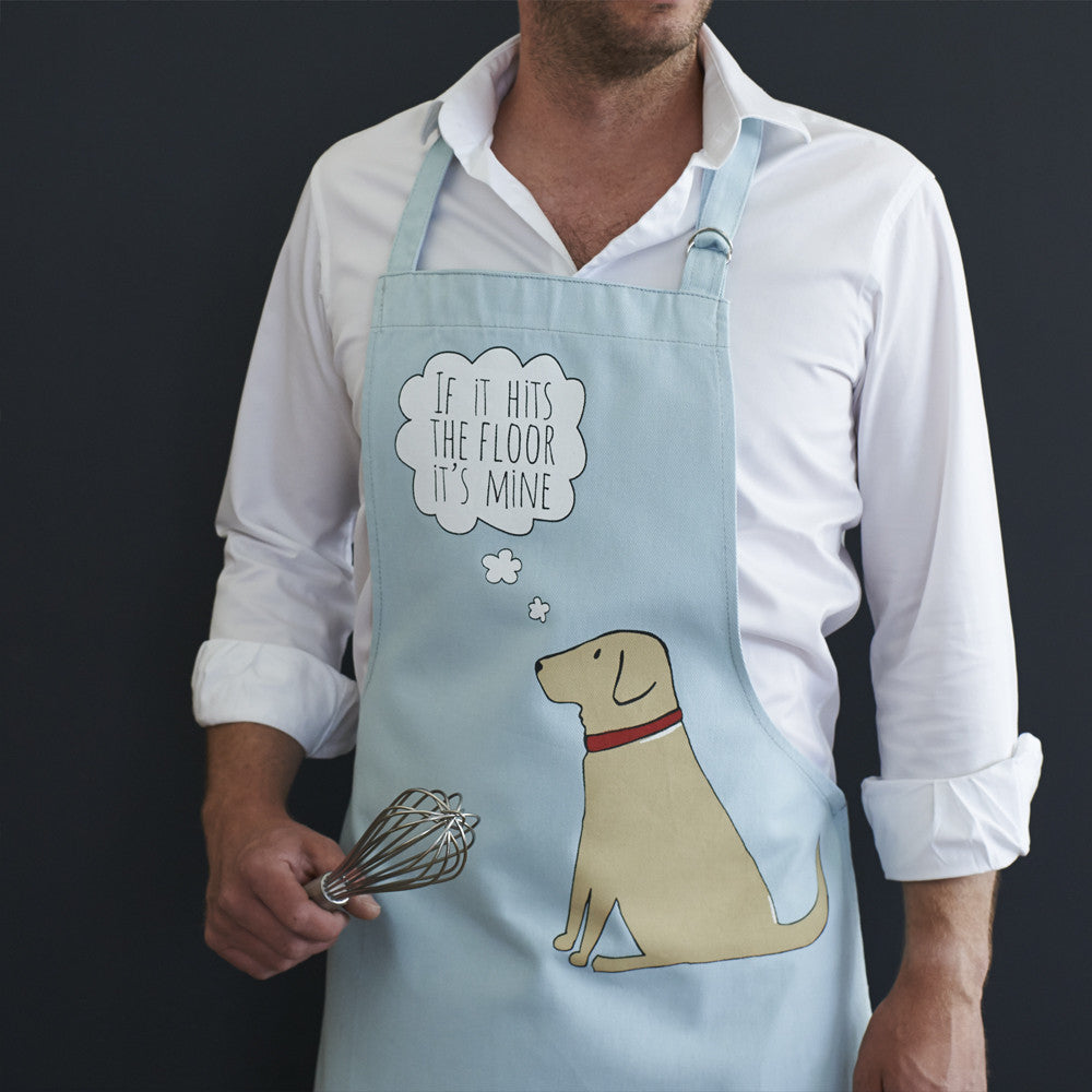'Yellow Labrador' Apron - Fernie's Choice Classic Country Wear for Dogs