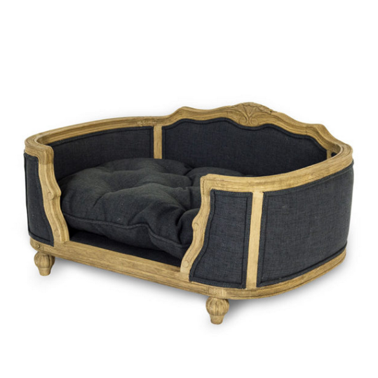 Lord Lou Luxury Dog Bed - Arthur Anthracite - Fernie's Choice Classic Country Wear for Dogs