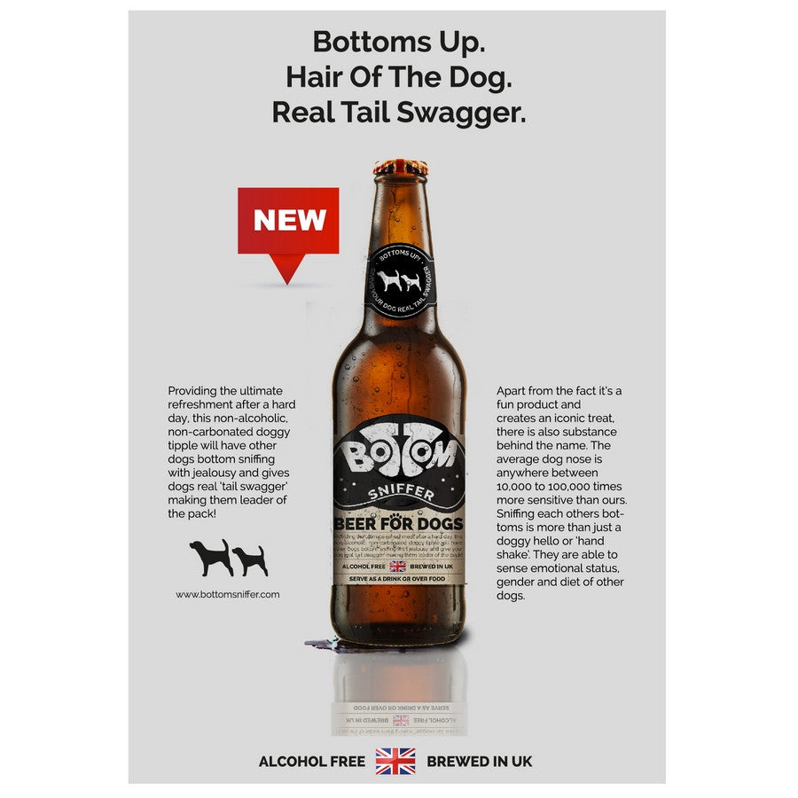 Bottom Sniffer Dog Beer from Woof & Brew - Fernie's Choice Classic Country Wear for Dogs