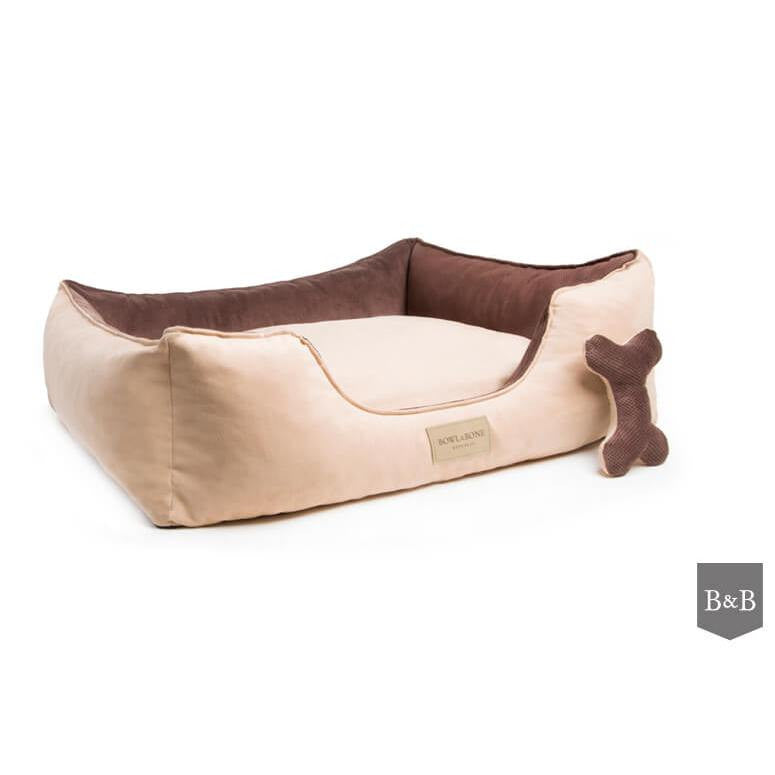 Classic Brown Dog Bed by Bowl and Bone - Fernie's Choice Classic Country Wear for Dogs