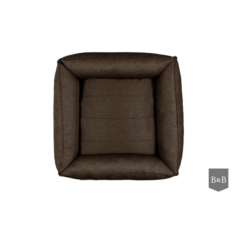 Urban Dog Bed - Brown by Bowl and Bone - Fernie's Choice Classic Country Wear for Dogs
