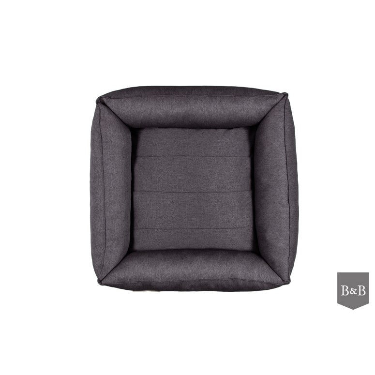 Urban Dog Bed - Graphite by Bowl and Bone