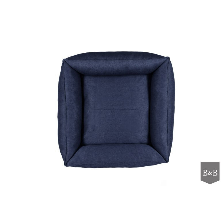 Urban Dog Bed - Navy by Bowl and Bone - Fernie's Choice Classic Country Wear for Dogs