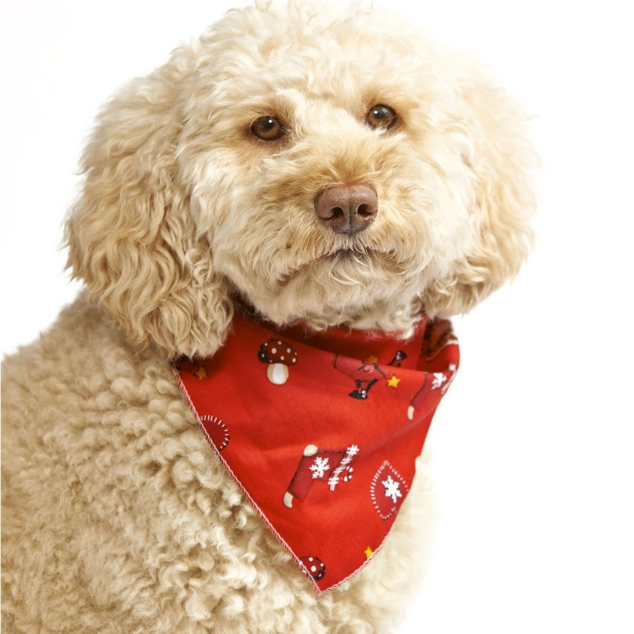 A Santa's Wish Dog Bandana - Fernie's Choice Classic Country Wear for Dogs