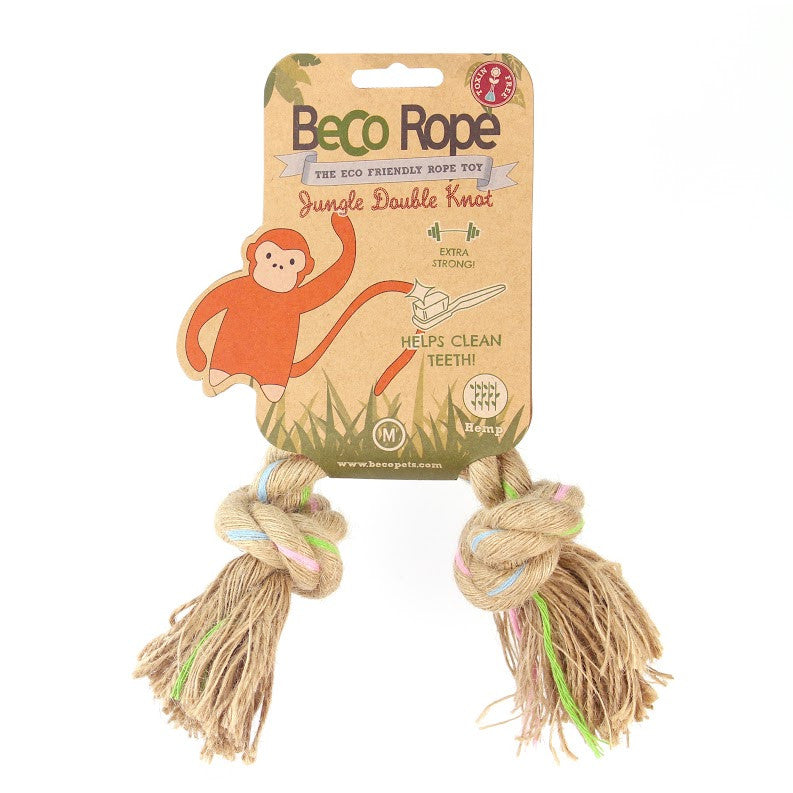 Beco Jungle Rope Double Knot Toy - Fernie's Choice Classic Country Wear for Dogs