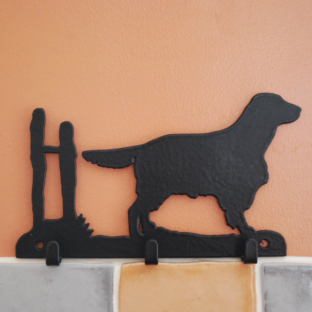 Yorkshire Terrier Dog Key Racks - 3 Hooks - Fernie's Choice Classic Country Wear for Dogs