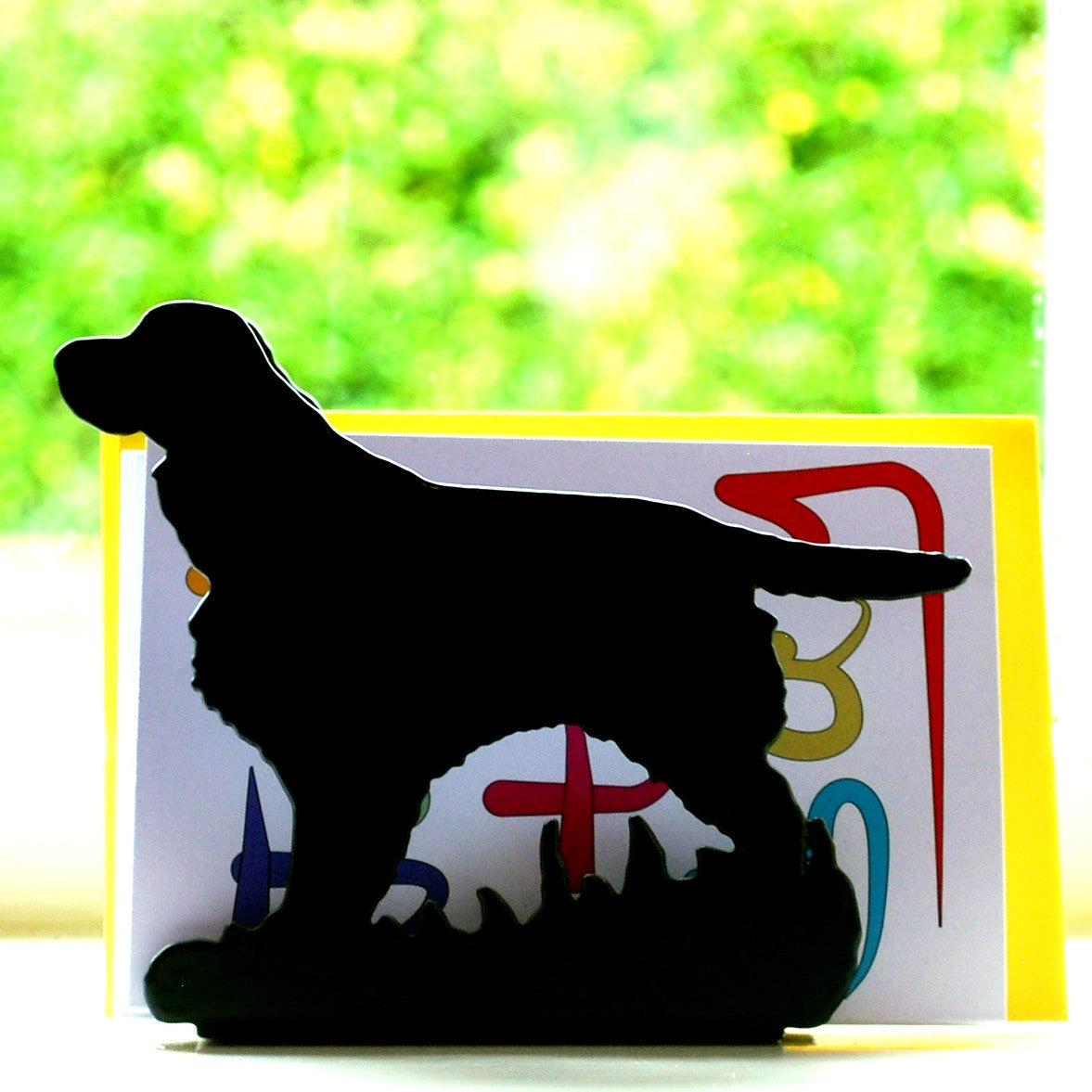 Letter Rack - Spaniel - Fernie's Choice Classic Country Wear for Dogs